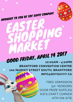 Easter Shopping Market (VENDORS WANTED)