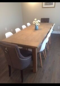 Rustic Harvest Dining Table