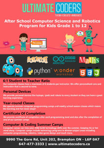 Let your kids learn computer programming at young age!