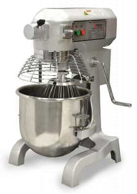 20qt Quart Commercial Kitchen Bowl Mixer Accessories Ideal For Restaurants