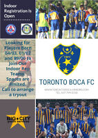 Toronto Boca FC Looking for Rep Players