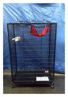Cage neuve pour furet, chinchilla,chat en metal sur roulettes