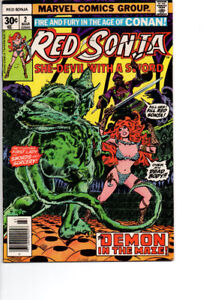 Red Sonia #2 - $15.00