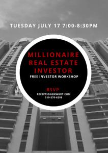 FREE Millionaire Real Estate Investment Seminar