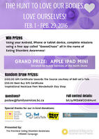 Win an Ipad Mini in The Hunt to Love Our Bodies, Love Ourselves!