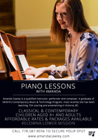 Piano Lessons with Amanda