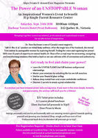 The Power of an Unstoppable Woman Event