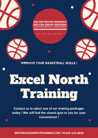 Basketball Training/ ALL ages / IG: @excelnorthtraining