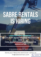 TOOL MAINTENANCE & SERVICE ASSOCIATES AND DELIVERY DRIVERS