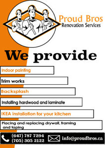 Renovation and Demolition for your Home at the right price.