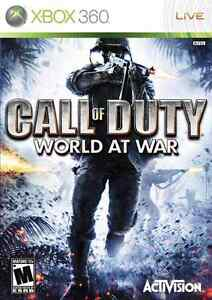 Looking for Call of Duty World at War for Xbox 360