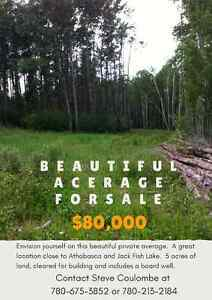 Beautiful Acreage outside of Athabasca