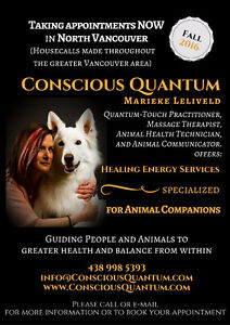 Quantum-Touch Energy Healing ~ Specialized for Animals ♡