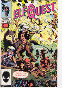Large Collection of Elfquest Comics
