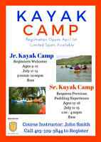 MHC Summer Kayak Camps