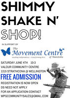 Shimmy, Shake & Shop Craft & Specialty Sale