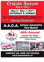 46th Antique Automotive Flea Market - Lindsay Fair Grounds