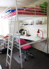 Double Loft Bed. Like New.