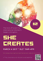 She Creates...One of a Kind Show