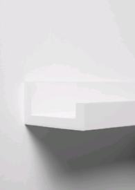 White Picture Ledge / Shelf
