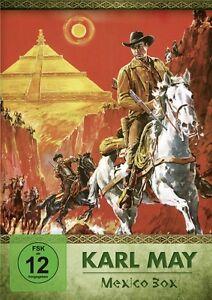 Karl-May-MEXICO-CAJA-Lex-Barker-SCHATZ-ATZTEKEN-Piramide-Dios-del-sol-2-de-DVD