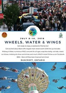 Bancroft's Wheels, Water & Wings