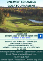 One Wish Scramble Golf Tournament