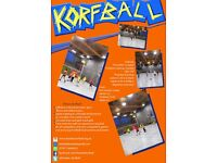Play Korfball - get fit, meet new people, have fun!