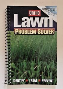 **NEW Lawn Problem Solver Waterproof Books by Ortho