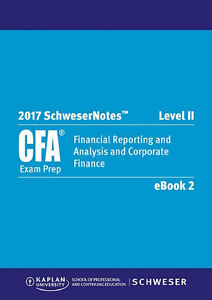 2017 CFA LEVEL 2 MATERIALS PACKAGE