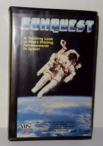VHS – Conquest (US Space Flight History) – 2 tape set