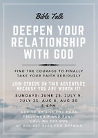 Deepen your relationship with God