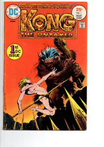 Kong The Untamed #1 & #5 - $15.00  FOR  BOTH !!!