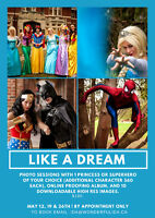 Princess Parties & Appearances Super Hero Photo Shoot