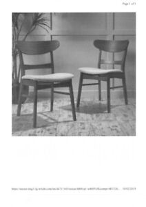 WANTED Mid-Century Modern Dining Chairs.