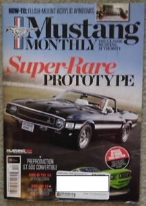 Mustang Monthly – Back issues