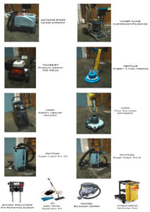 Commercial Cleaning Equipments for SALE!