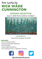 """Opening Reception: Rick Wade Cunnington's """"New Works"""""""
