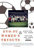 Local KW Women's Soccer Team Tryouts!