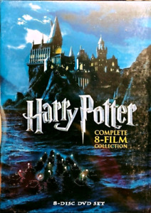 Harry Potter 1-8 Film Collection DVD (Brand New) Free Delivery