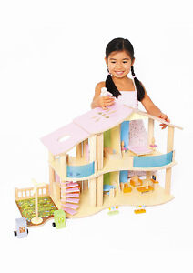 Wooden doll house - new