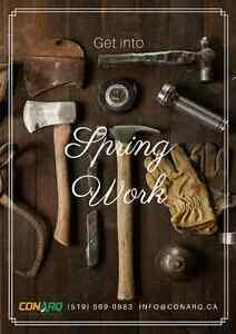 Get into Spring Work. Book your Flooring Project Today!