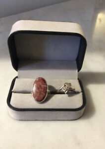 Sterling  Gemstone Rings