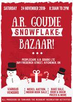 A.R. Goudie LTC Christmas Bazaar- CALLING ALL VENDORS