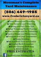 Lawn, Tree, Garden,Landscape and Snow Removal Service