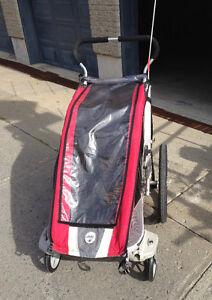 chariot cougar avec roues de poussette!