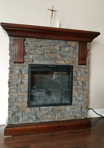 It sells an electric fireplace. Shin Dong grade 450