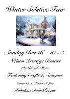 Nelson Winter Solstice Fair