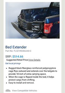 Selling Ford bed extender