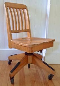 le dernier 9b046 d3d3e Chaise De Bureau Ancienne | Achetez ou vendez des biens ...